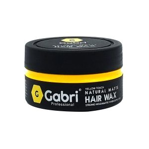 Gabri hair wax yellow touch