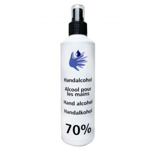 Carin Hand Alcohol 70% Desinfectie Spray 250ml