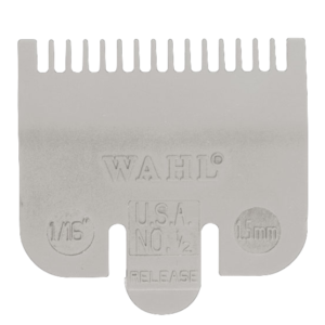 Wahl Opzetkam Plastic Gekleurd Nr. 0.5 (1,5mm) Grijs