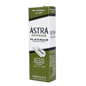 Astra Double Edge Blades (green) 100st