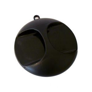 Handspiegel Zwart 28cm