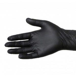 Latex Handschoenen Zwart Small 100st